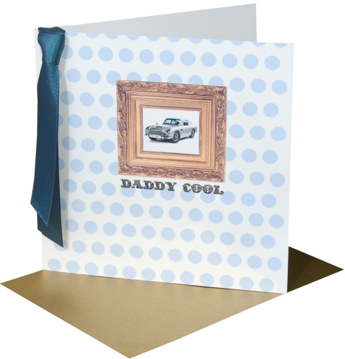 Stylish card for Father's Day