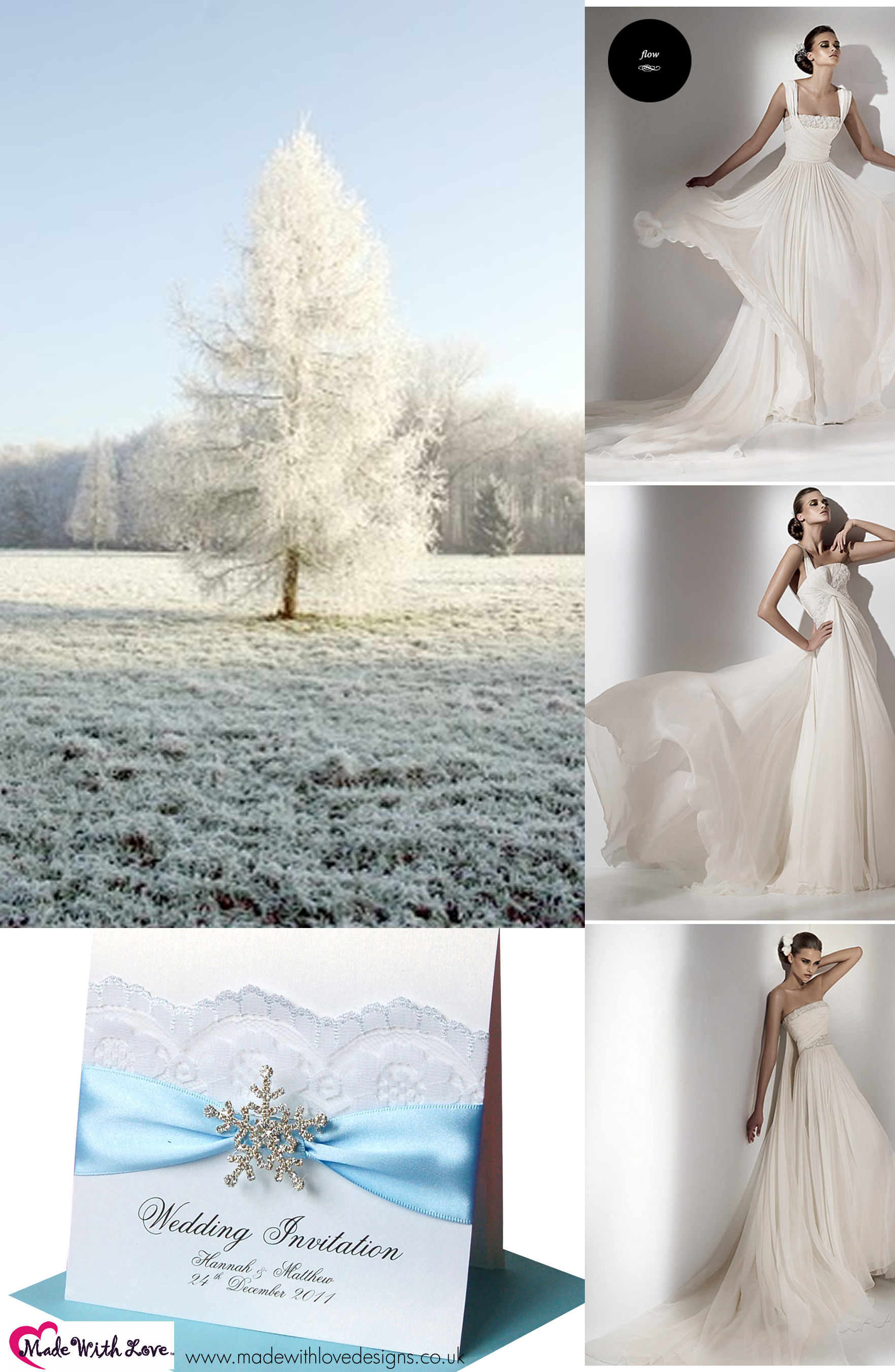 Winter Wedding Theme Part 2 | Made With Love Designs