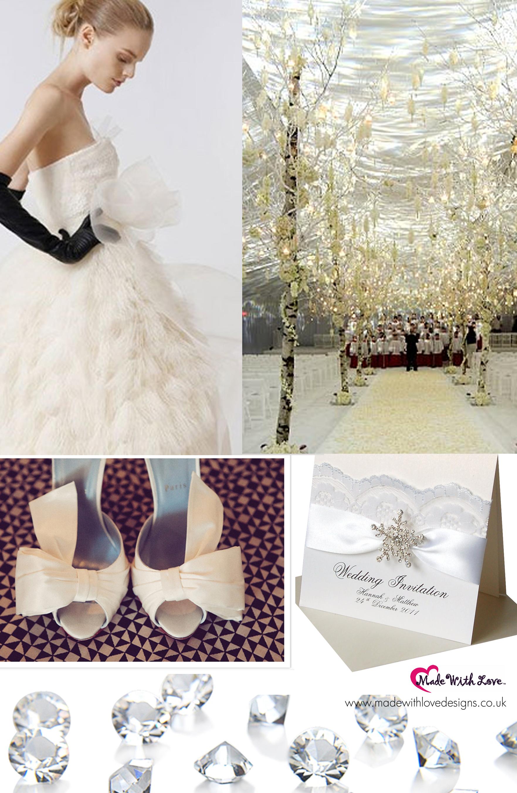 Winter Theme Wedding Dresses 83