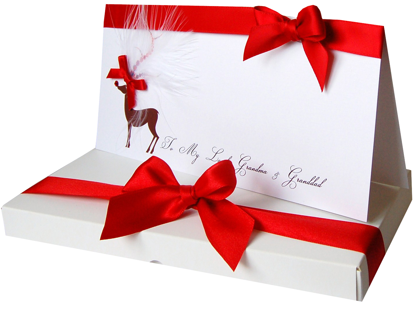 personalised christmas cards   Made With Love Designs