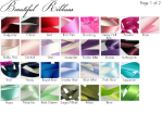 Choose from our luxury satin ribbons