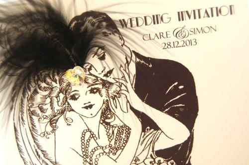 The 20's roar again. Great Gatsby inspired Wedding ...