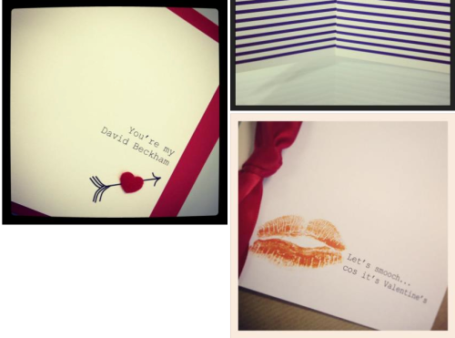 Mens Valentines cards