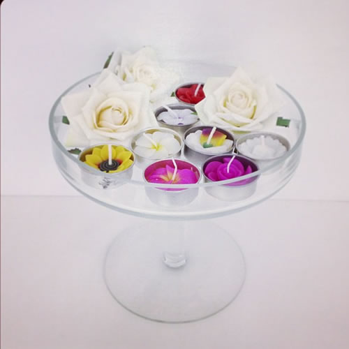 Flower Tea Lights Pack Gift1