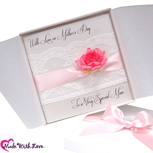 Lace & Rose Mothers Day Cards