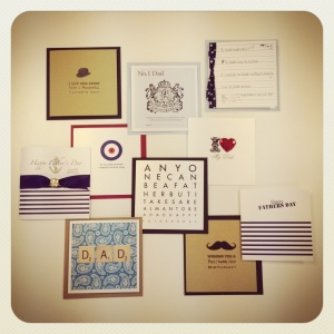 Father's Day card collection launches ..... And a cheeky special offer