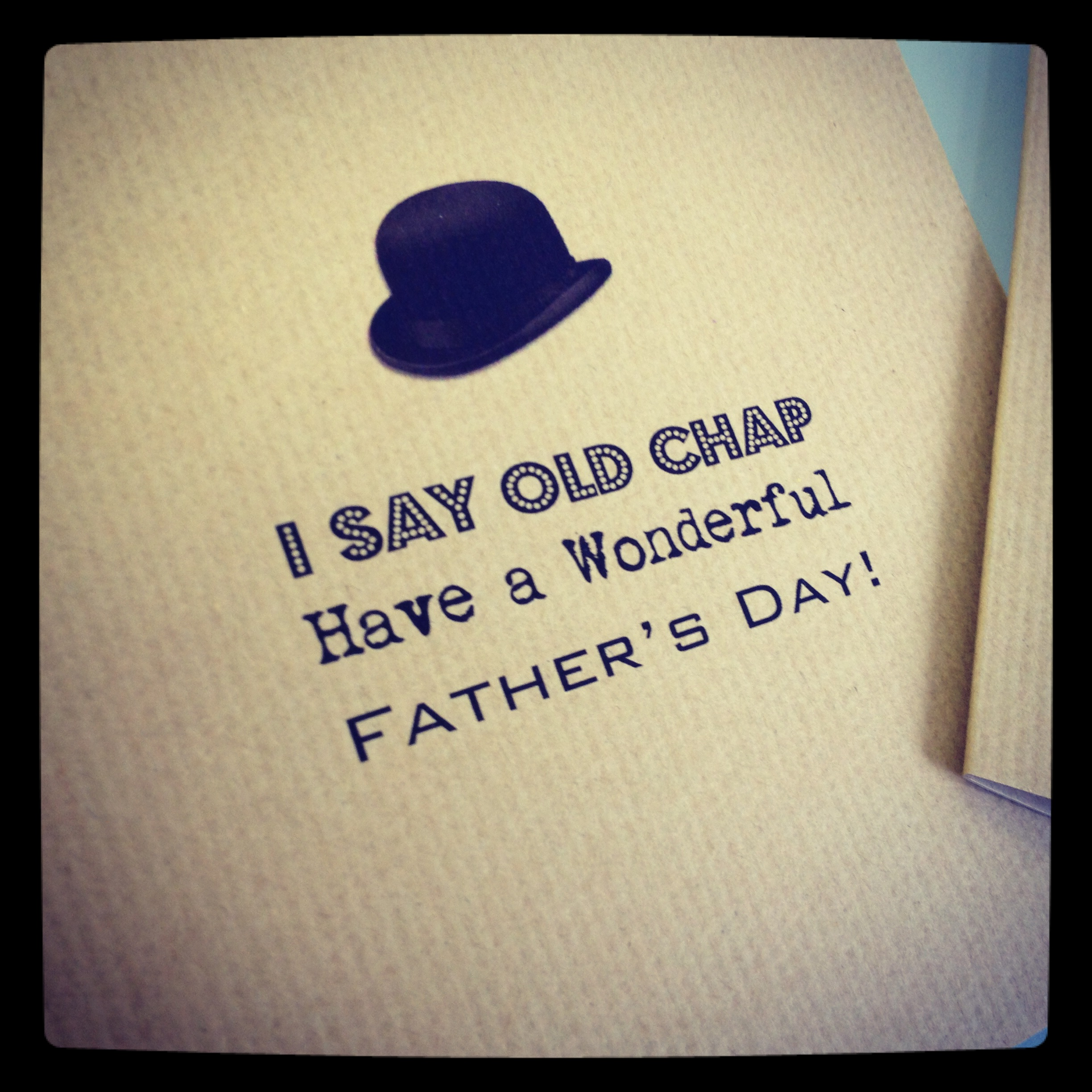 Fathers Love: Father's Day Card Collection Launches ….. And A Cheeky