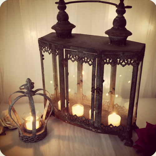 Cosy up this winter with candles & lanterns