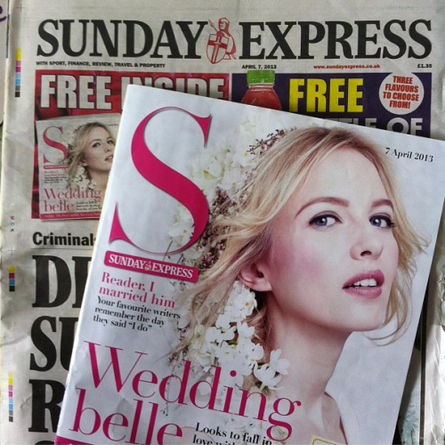 Made With Love Pastel Pink Wedding Invitations in The Daily Express