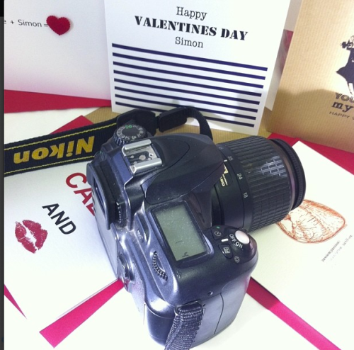 Shooting Valentines Day Cards & Gifts