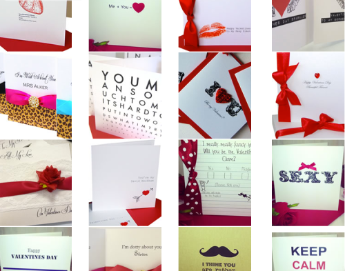 Valentines Cards 2014 available to order online