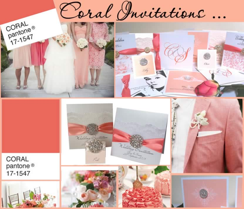 Popular Wedding Themes Coral Made With Love Designs