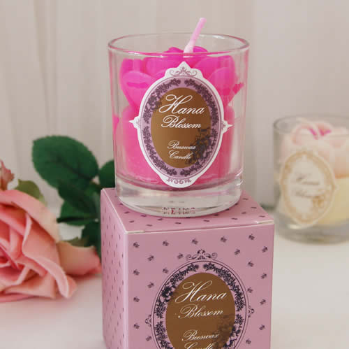 Candle mothers day gift in glas jar boxed