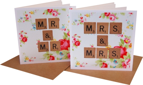 Mr & Mr wedding cards perfect for gay marriages