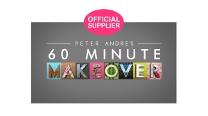 Made With Love proud suppliers to ITV's Peter Andre's 60 Minute Makeover