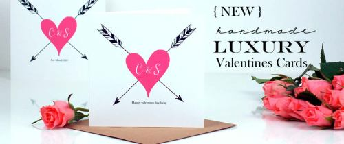 2015 Valentines Day - Personalised & luxury Cards for love