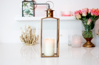 Brass gold lantern spring £34.99 www.madewithlovedesigns.co.uk