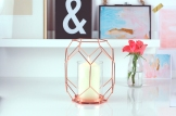 Copper Geometric Candle Holder copy 2