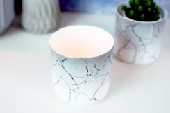 Marble Porcelain Pot1