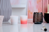 Ombre tea light holder lanterns pair of lifestyle £12.95 www.madewithlovedesigns.co.uk