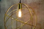 Gold interiors lights