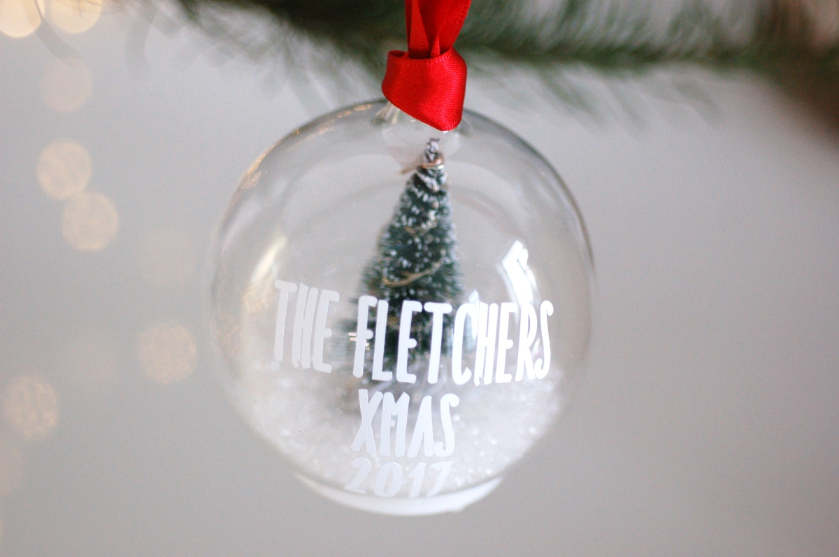 Light Up Personalised Baubles